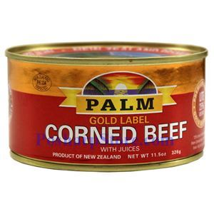 Picture of Palm Gold Label Corned Beef With Juices 11.5 oz
