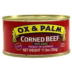 Picture of OX & Palm Corned Beef With Juices 11.5 oz