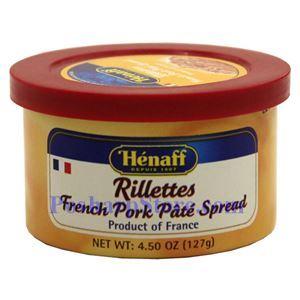 Picture of Henaff Rillettes French Pork Pate Spread 4.5 oz