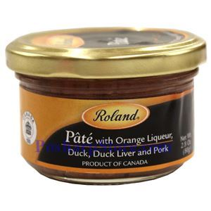 Picture of Roland Duck, Duck Liver & Pork  Pate with Orange Juice 2.8 oz