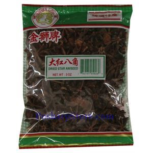 Picture of Golden Lion Dried Star Aniseed 3 Oz
