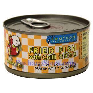 图片 乐鱼牌香辣炸鱼 90克