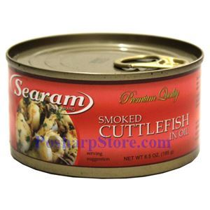 Picture of Searam Smoked Cuttlefish in Oil 6.5 Oz