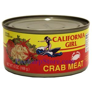 Picture of California Girl Crab Meat 6 Oz