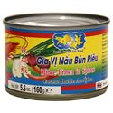 Picture of Double Golden Fish Minced Prawn in Spices (Gia Vi Nau Bun Rieu) 5.6 Oz