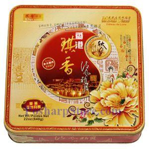图片 香港琪香牌红豆沙月饼,4粒 640克