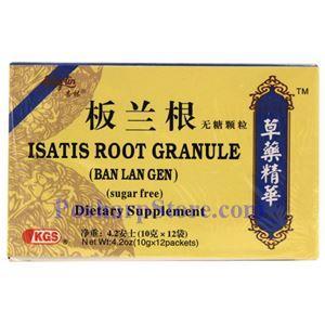 Picture of KGS Singlin Instant Sugar-Free Isatis Root Granule (BanLanGen)12 Packs