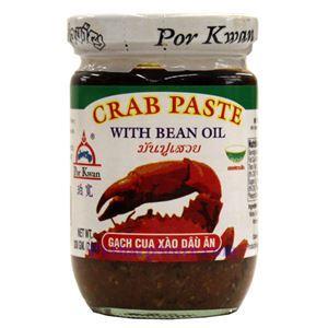 Picture of Por Kwan Crab Paste with Bean Oil (Gach Cua Xao Dau An) 7 Oz
