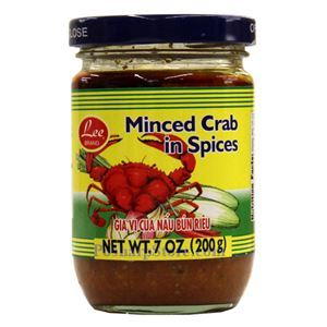 Picture of Lee Brand Minced Crab in Spices 7 Oz