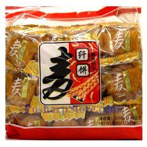 图片 宏达牌麦纤饼干 500克