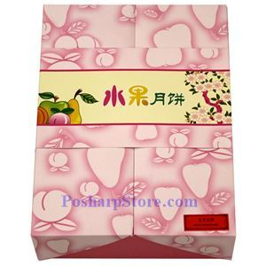 Picture of Jiahua Mixed Fruit Mooncake 6 pcs, 25 oz