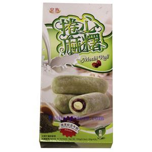 Picture of Royal Family Green Tea Red Bean Milk Mochi Rolls 5.3 Oz