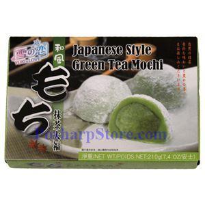 Picture of Yuki&Love Japanese Green Tea Mochi  7.4 Oz