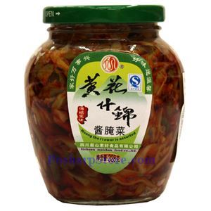 Picture of Jiahao Assorted Spicy Vegetables With Lily Flowers 11.5 Oz
