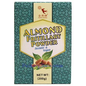 Picture of Golden Swallow Instant & Vegan Almond Fritillary Powder 7 Oz