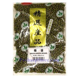 图片 东明大桥牌绿豆 340克
