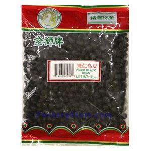 Picture of Golden Lion Black Beans 12 Oz