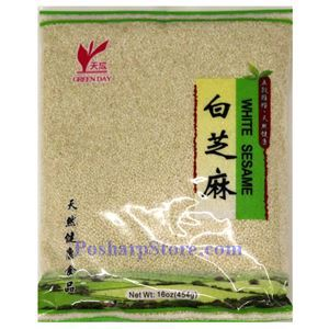 Picture of Green Day White Sesame 16 Oz