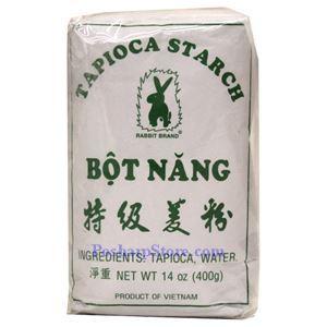 Picture of Rabbit Brand Tapioca Starch (Bot Nang) 14 Oz
