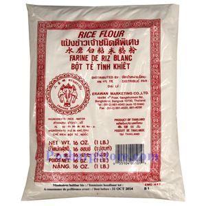 图片 三象牌水磨白粘米粉 454克