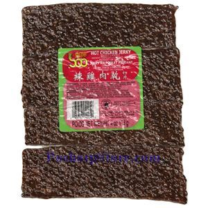 Picture of Soo Jerky Sliced Spicy Chicken Jerky 4oz