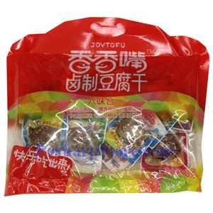 Picture of Chengdu Xiangxiangzui Dried Tofu Collection of 6 Flavors 13.6 oz