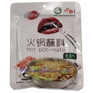图片 小肥羊火锅蘸料(清香味)125克