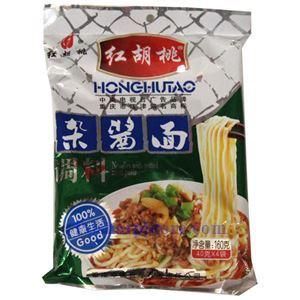 图片 重庆红胡桃牌杂酱面拌料 160克