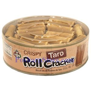 Picture of Assi Korean Crispy Taro Roll Cracker  14.8 Oz