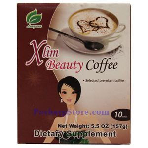 Picture of Longreen Instant Xlim Beauty Coffee 5.5 Oz 10 Sachets