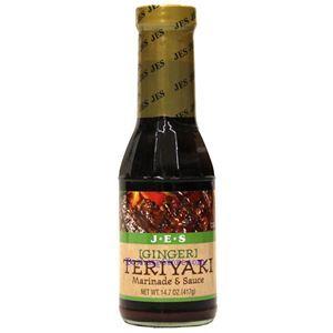 Picture of JES Ginger Teriyaki Marinade & Sauce 14.7 Oz