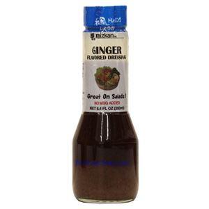 Picture of Mizkan Ginger Flavored Salad Dressing 8.4 Fl Oz