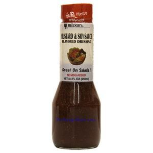 Picture of Mizkan Mustard & Soy Sauce Flavored Salad Dressing 8.4 Fl Oz