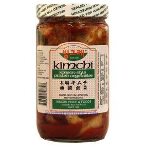 Picture of Kikkokin  Korean Kimchi (Pickled Vegetables) 32 Fl Oz