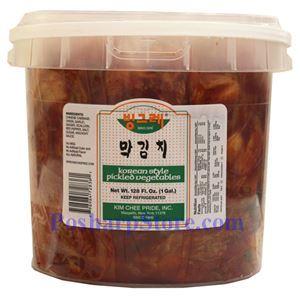 Picture of Kikkokin  Korean Kimchi (Pickled Vegetables) 1 Gallon