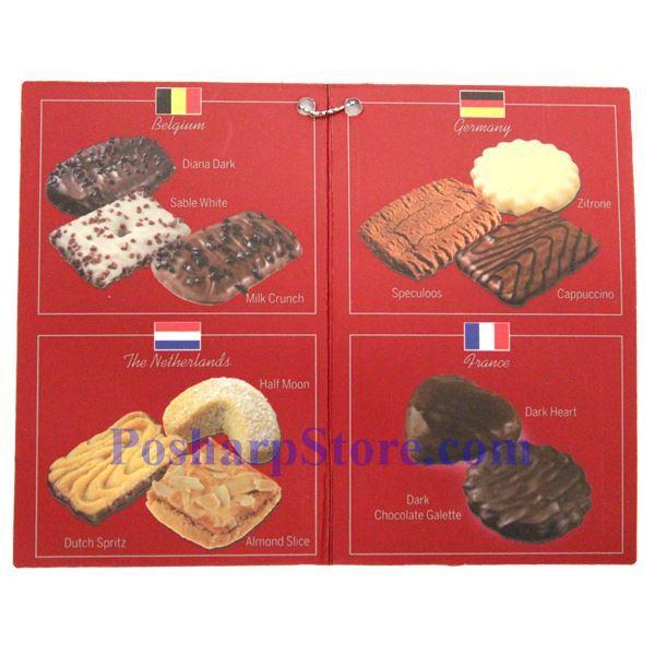 分类图片 A La Carte牌比利时、法国、德国和荷兰饼干