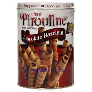 Picture of Pirouline Artisan Rolled Wafers of Chocolate Hazelnet