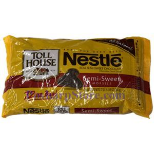 Picture of Nestle Toll House Real Semi-Sweet Chocolates 4.5 Lbs