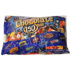 Picture of Assorted Chocolate Candies 5 Lbs, 150 pcs