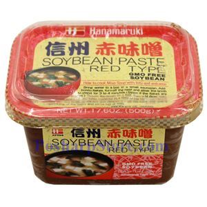 图片 Hanamaruki 牌日式味噌酱(红) 500克