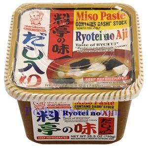 Picture of Marukome Boy Ryotei Miso Paste 26.5 Oz