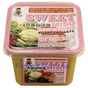 Picture of Miko Brand Organic Sweet Miso Paste with Light Sodium 16 Oz