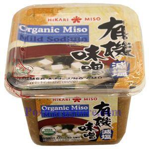 Picture of Hikari Organic Mild-Sodium Miso Paste 17.6 Oz