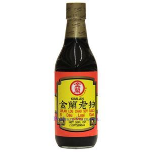 Picture of Kimlan Dark Soy Sauce 20 Fl Oz