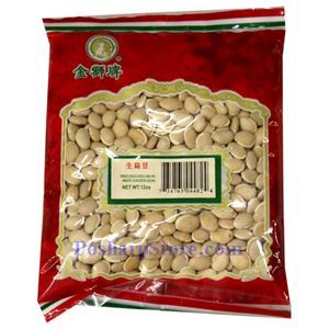 Picture of Golden Lion Dried White Hyacinth Beans 12 Oz