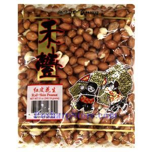 Picture of Wor Fung Red Skin Peanuts 12 Oz