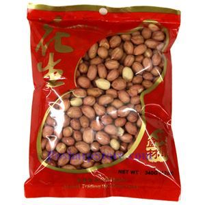 Picture of Humei Peanuts with Skin 12 Oz