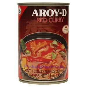Picture of Aroy-D Red Curry Soup 14 Oz