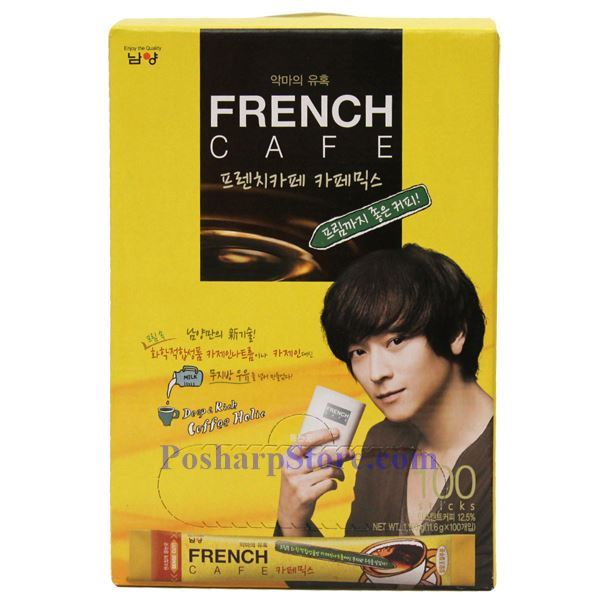 Picture for category Namyang French Cafe Coffee Mix - Deep Rich Coffee Holic 100 Sticks