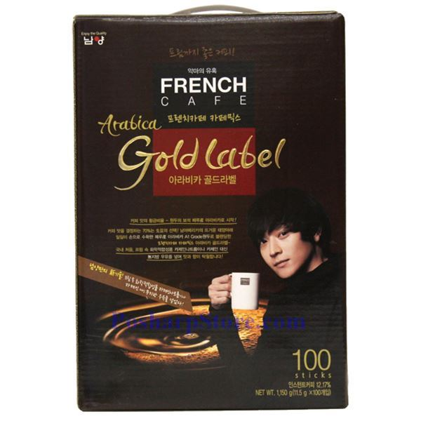 Picture for category Namyang French Cafe Coffee Mix - Aribica Gold Label 100 Sticks